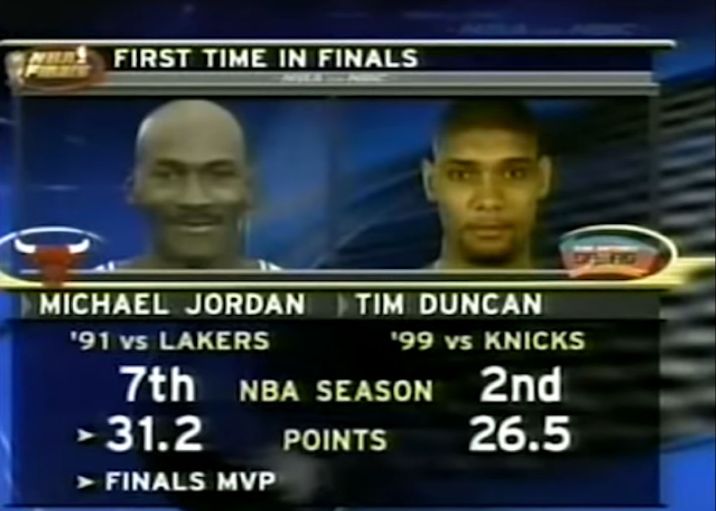 duncan and jordan comparison