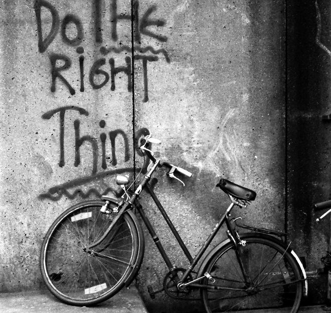 לעשות את הדבר הנכון